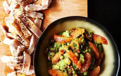 DICA: Espadarte com Salada de Favas